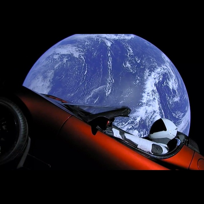Tesla Roadster - SpaceX