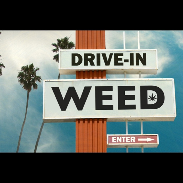 Weed Drive-In